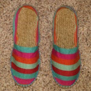Artisanat Francais Espadrilles Canvas Shoes  UK 37